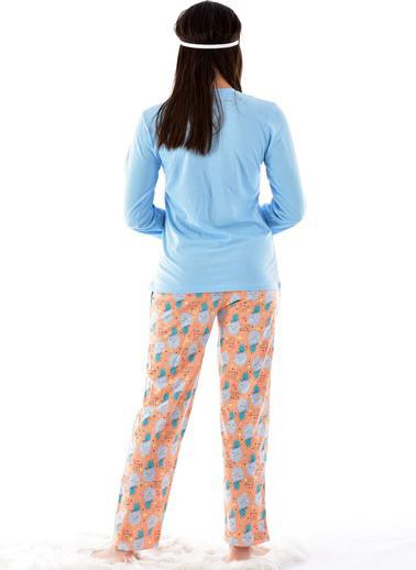 Pemilo Pijama Takım Mavi